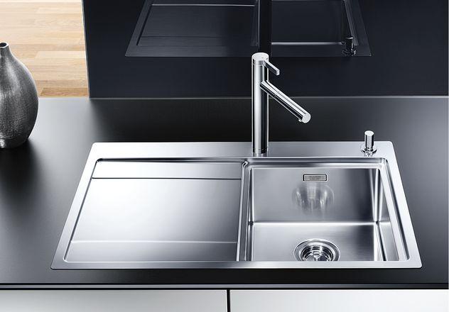 sp len aus edelstahl f r einen unterschrank mit 45 cm breite sp lenshop. Black Bedroom Furniture Sets. Home Design Ideas